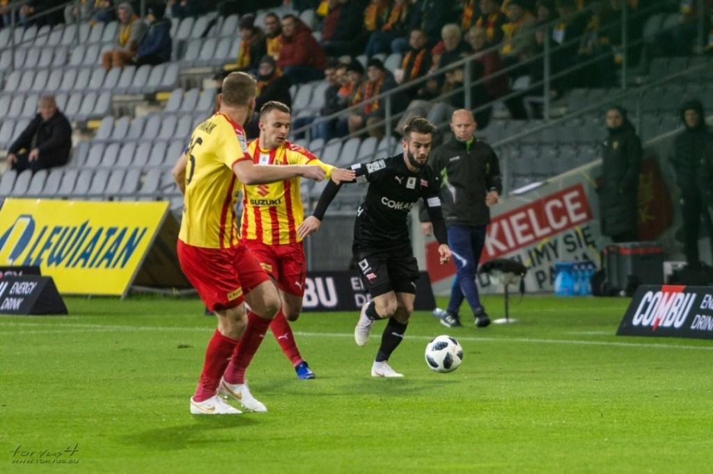 Cebula zdecydowanie najlepszy w meczu w Sosnowcu