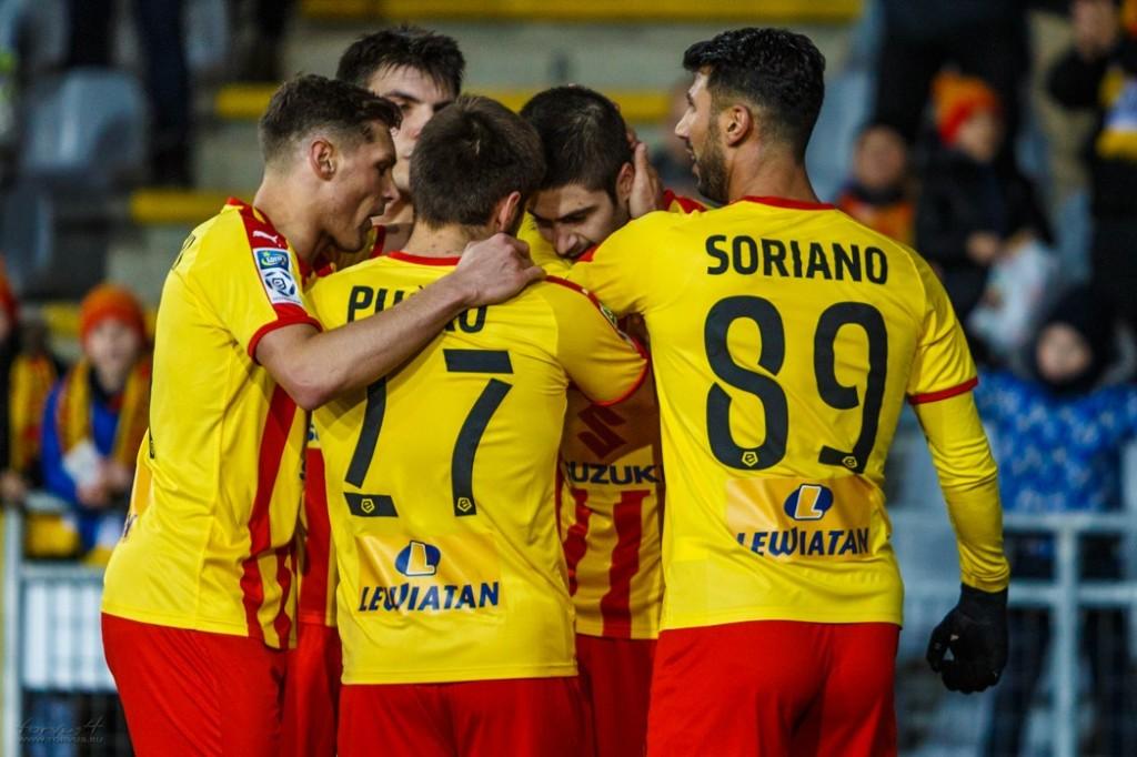 Sondy pomeczowe: Arweladze najlepszy w nowej rundzie, bez zmian w czołówce rankingu za cały sezon