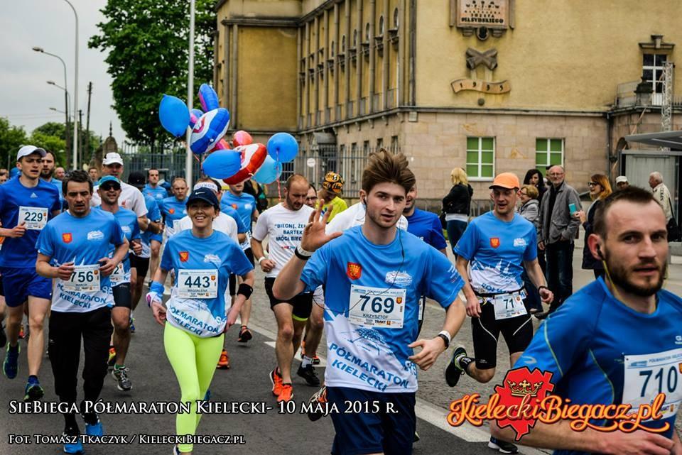 Półmaraton Kielecki udany, biegacze zachwyceni!