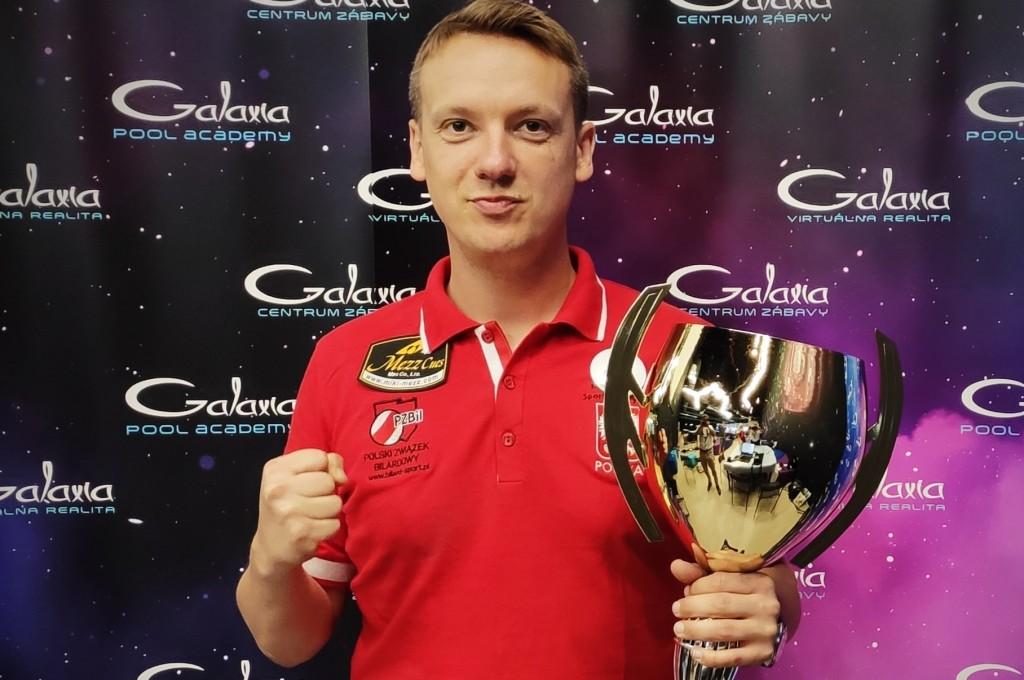 Tomasz Kapłan z Nosanu Kielce zwycięzcą rankingu Pucharu Europy Wschodniej