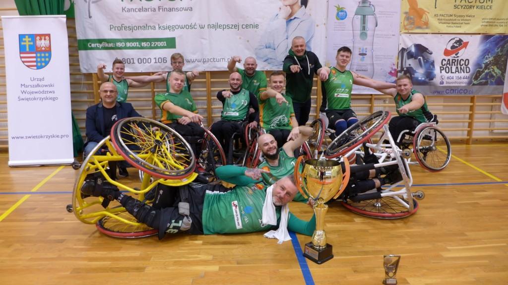 Pactum Scyzory zwycięzcą Pucharu Polski w koszykówce na wózkach