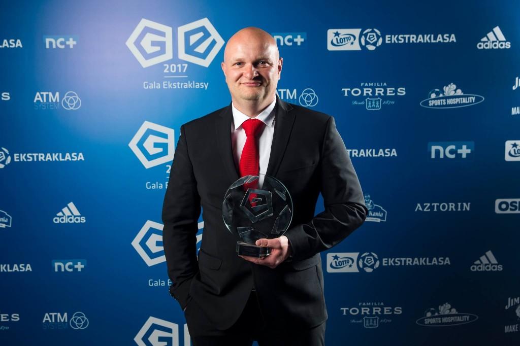 Bartoszek najlepszym trenerem Lotto Ekstraklasy. To decyzja piłkarzy spoza Korony!