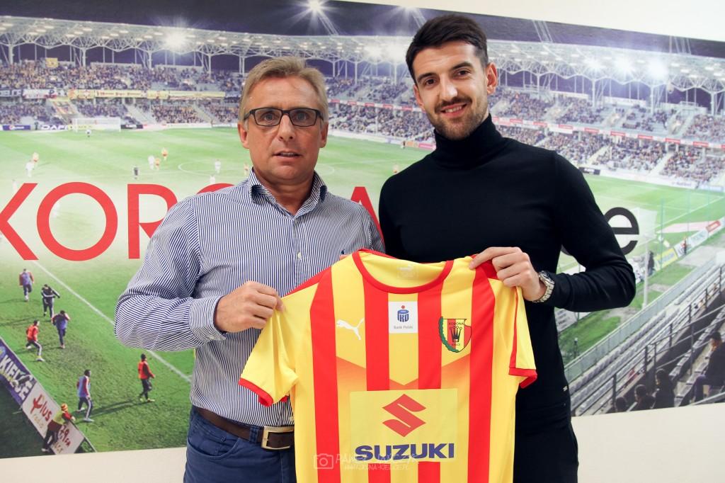Transfer Korony Kielce! Defensywny pomocnik z Bośni i Hercegowiny dołącza do drużyny