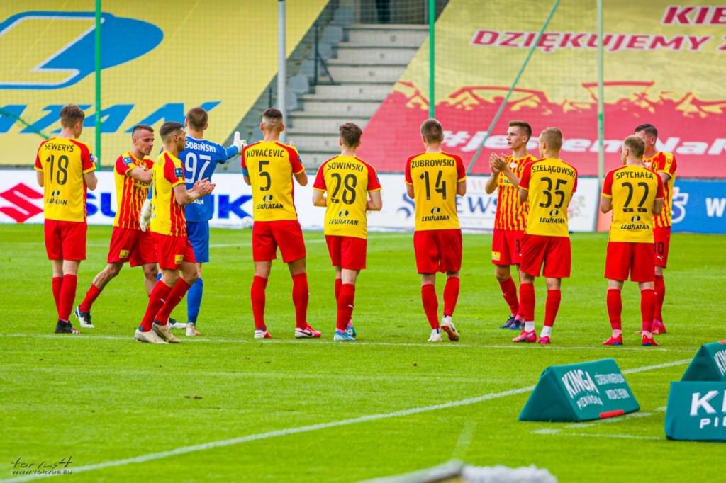 FOTO: Pożegnanie Ekstraklasy, odchodzących piłkarzy. I błysk młodzieży Korony Kielce