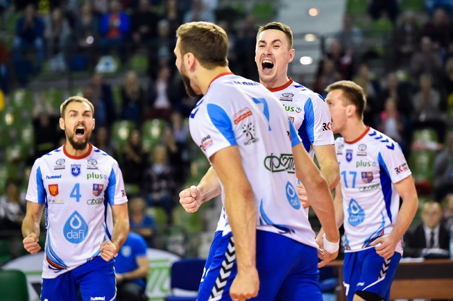 Komplet punktów zostaje w Kielcach. Zwycięstwo Dafi Społem w ważnym meczu!