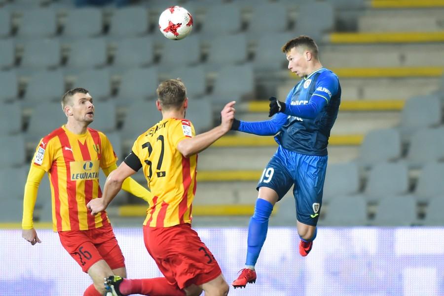 Senny mecz w Kielcach, ale końcówka gorąca! Remis Korony na koniec 2017 roku