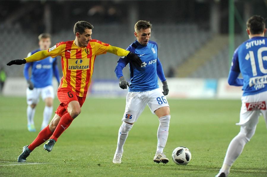 Korona lepsza od Lecha! Gol Cvijanovicia, Alomerović broni karnego w ostatniej akcji meczu!!!