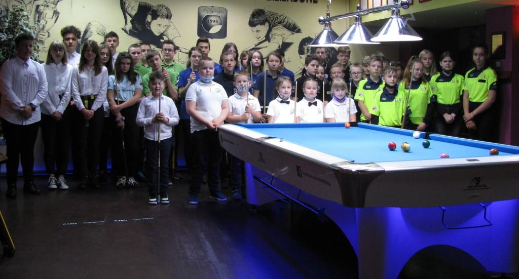 Otwarte mistrzostwa bilardowe dla dzieci i młodzieży