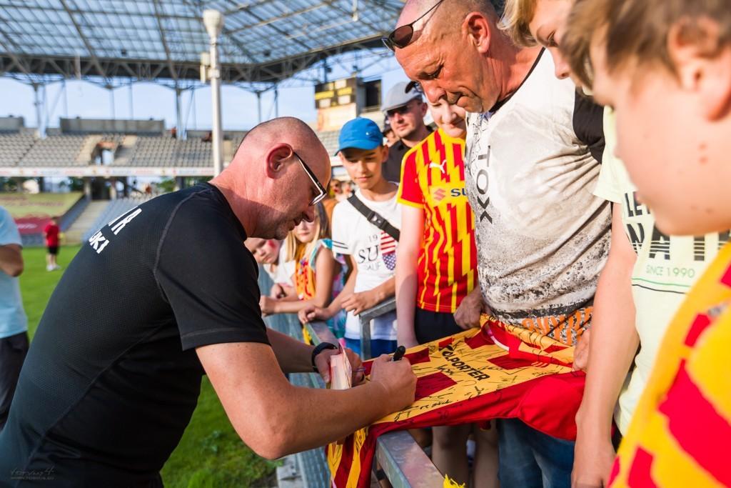 Kibice wybrali Dominika Nowaka trenerem 50-lecia Miedzi Legnica