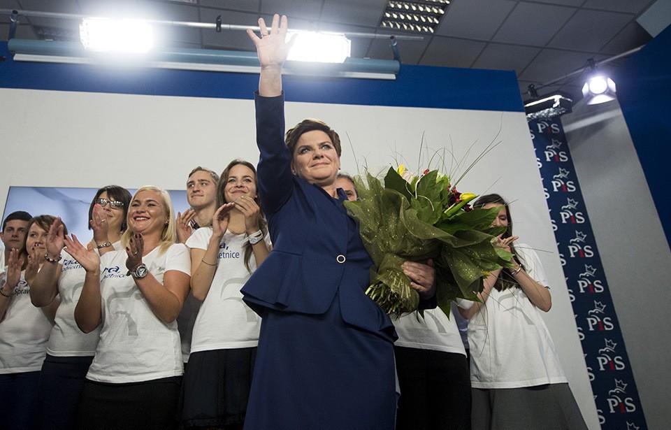 Zwycięzcy Ligi Mistrzów spotkają się Premier Beatą Szydło