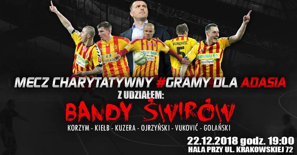 """""""Banda Świrów"""" znowu razem! W sobotę w Kielcach zagra dla Adasia"""