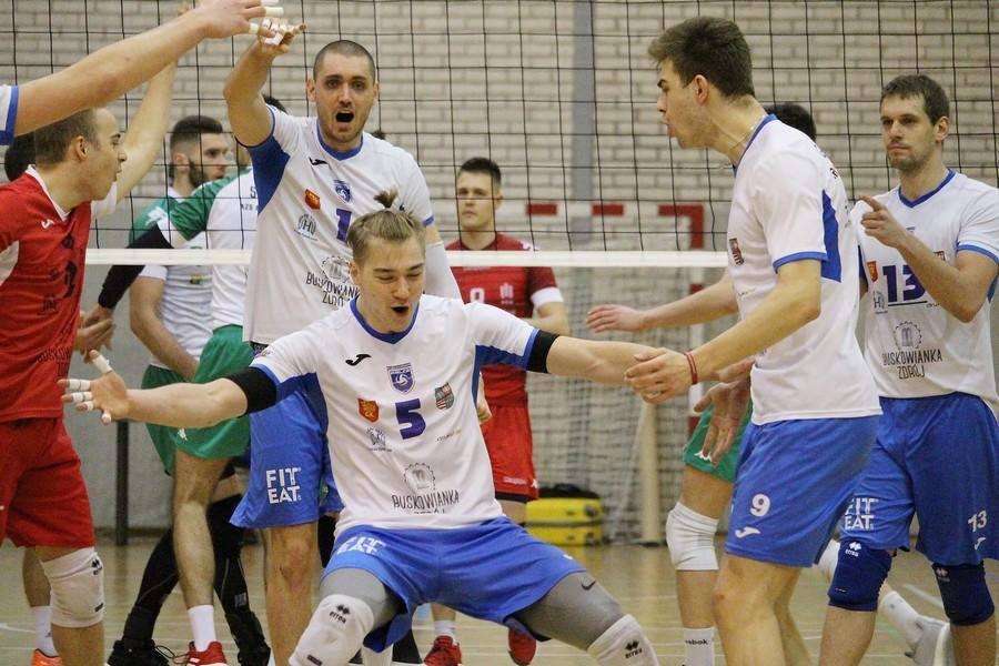 Przełamanie Buskowianki! Kieleccy siatkarze wygrali w Krakowie