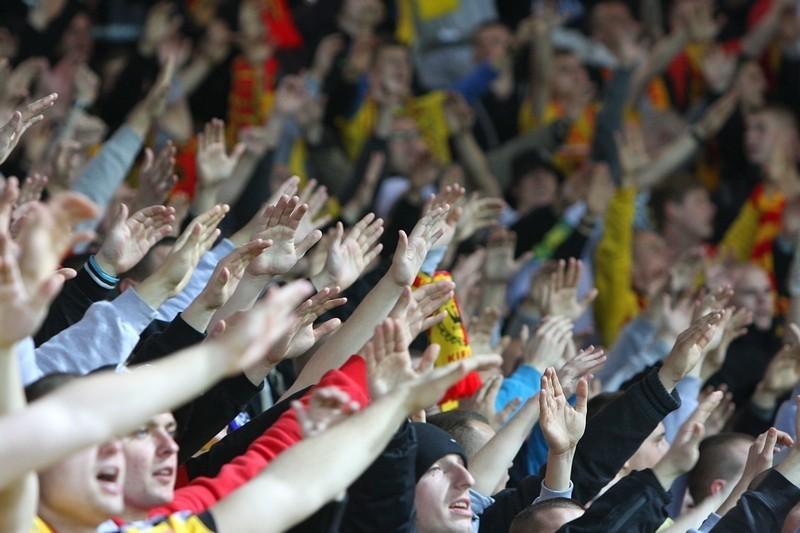 Wyjątkowa oparwa meczu przy Kałuży. Kibice i piłkarze uczczą pamięć św. Jana Pawła II