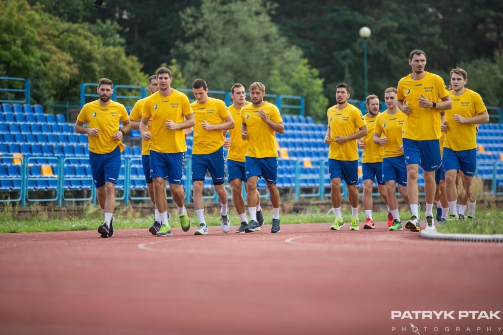 FOTO: Drużyna PGE VIVE wróciła do treningów