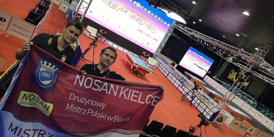 Mistrzowie Polski z Nosanu Kielce walczą w Szanghaju