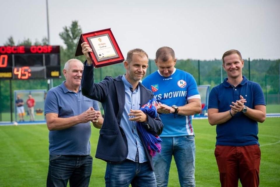 GKS Nowiny świętował 45-lecie. Na urodziny zagrała Korona i Raków