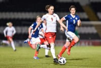 Mecz reprezentacji kobiet Polska - Szkocja na Kolporter Arenie. Wstęp wolny