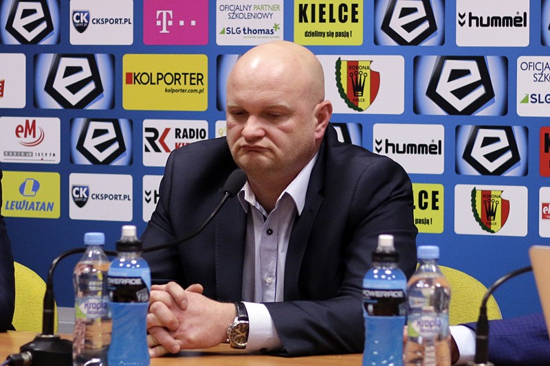 Bartoszek po debiucie: Widać pewną zmianę w Koronie