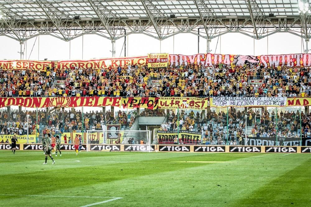 Pękła dycha! Mecz Korona - Legia obejrzy ponad dziesięć tysięcy kibiców
