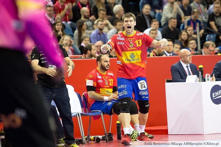 """Hiszpanie górą w """"kieleckim"""" starciu na Euro! Są już w półfinale"""