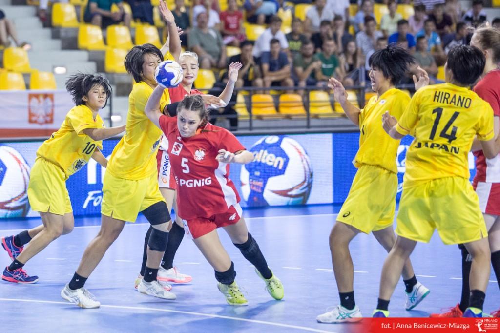 MŚ U-18: Zwycięstwo z Japonią i 13. miejsce Polski w turnieju