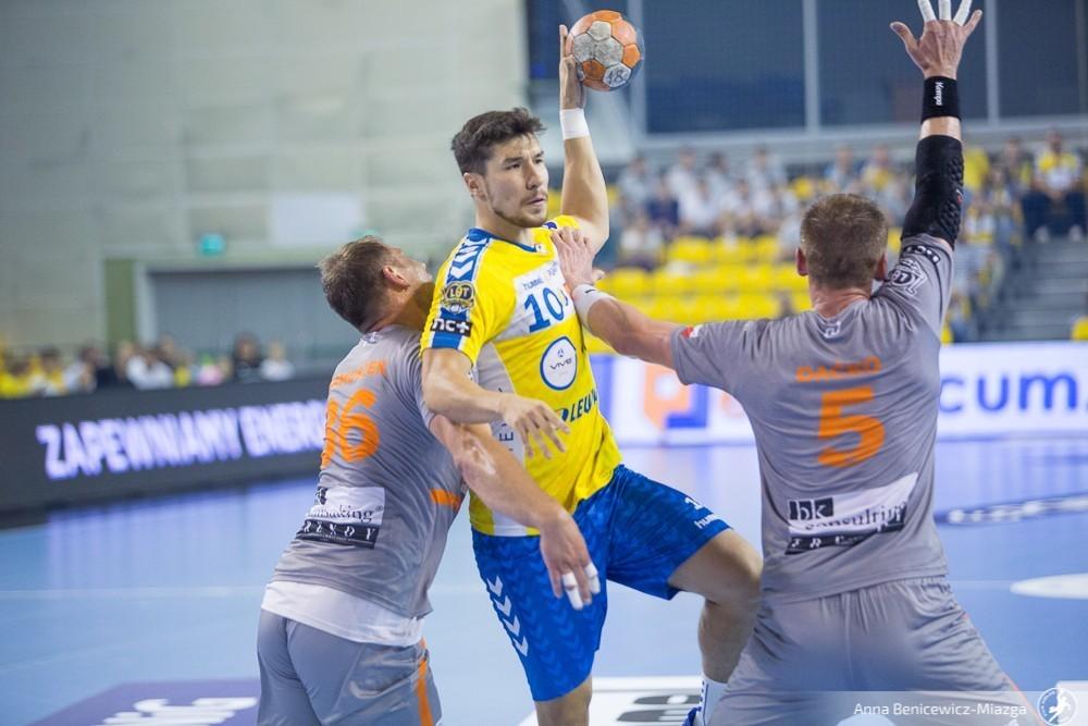 Alex Dujshebaev zakończył mecz w Szwecji przedwcześnie. Powodem kontuzja