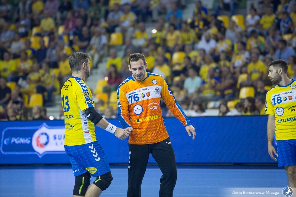 NA ŻYWO! 8. kolejka Ligi Mistrzów: PGE VIVE Kielce - Mieszkow Brześć