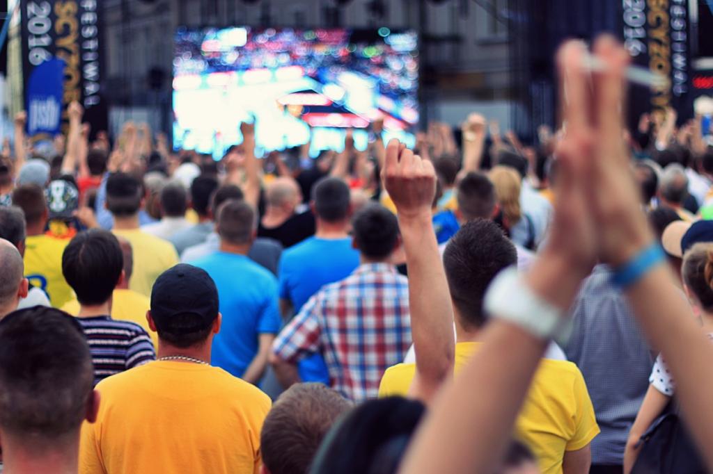 Ogromna radość na kieleckim Rynku po sukcesie Vive! (video)