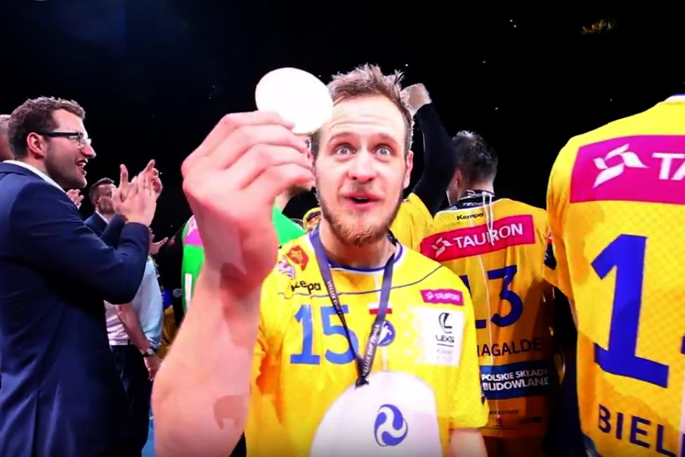 Ludzie, wygraliśmy Ligę Mistrzów! Drużyna Vive pozdrawia... Karola Strasburgera (video)