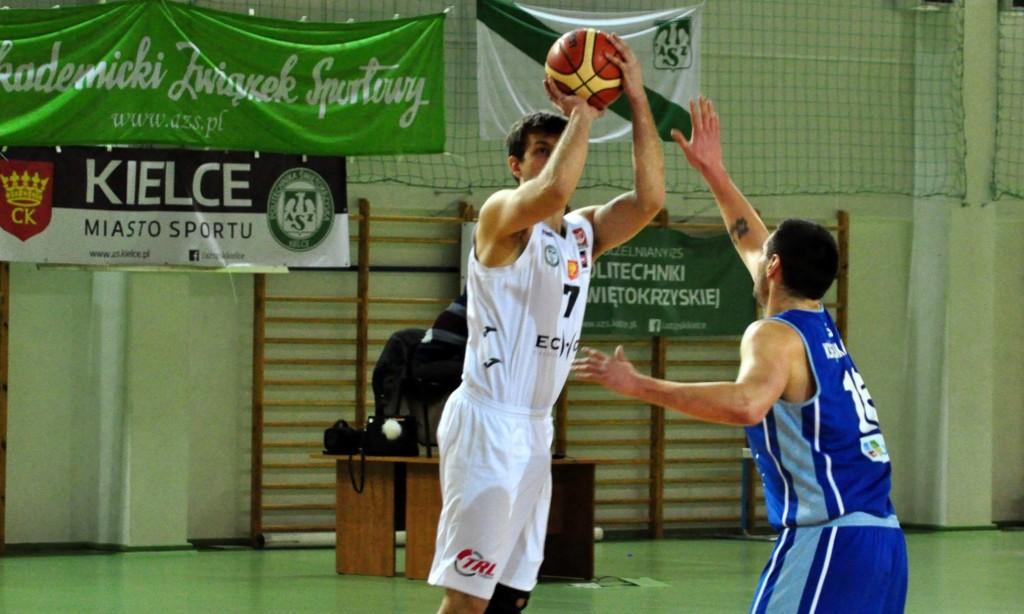 Nic nie wpadało… Koszykarze Politechniki przegrali z Księżakiem