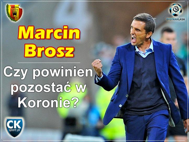Czy trener Brosz powinien zostać w Kielcach?