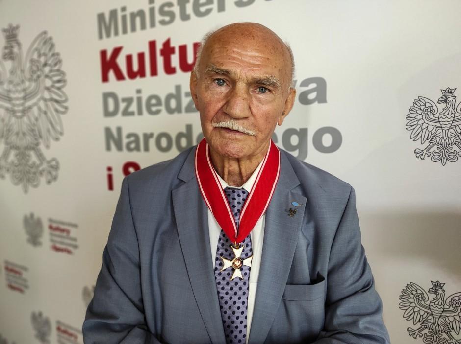Wybitny pięściarz uhonorowany przez prezydenta Andrzeja Dudę