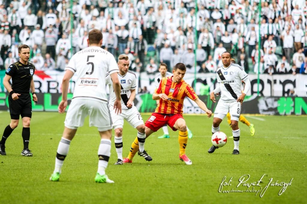 Znakomity mecz Korony przy Łazienkowskiej! Kielczanie remisują z Legią i zdobywają jeden punkt!