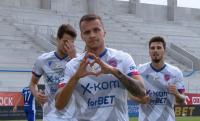 Fantastyczny gol Marcina Cebuli w meczu przeciwko Maciejowi Bartoszkowi (WIDEO)