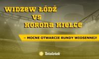 Widzew Łódź vs Korona Kielce – mocne otwarcie rundy wiosennej!