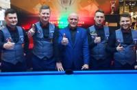 NOSAN Kielce walczy o ósmy złoty medal rozgrywek Polskiej Ligi Bilardowej