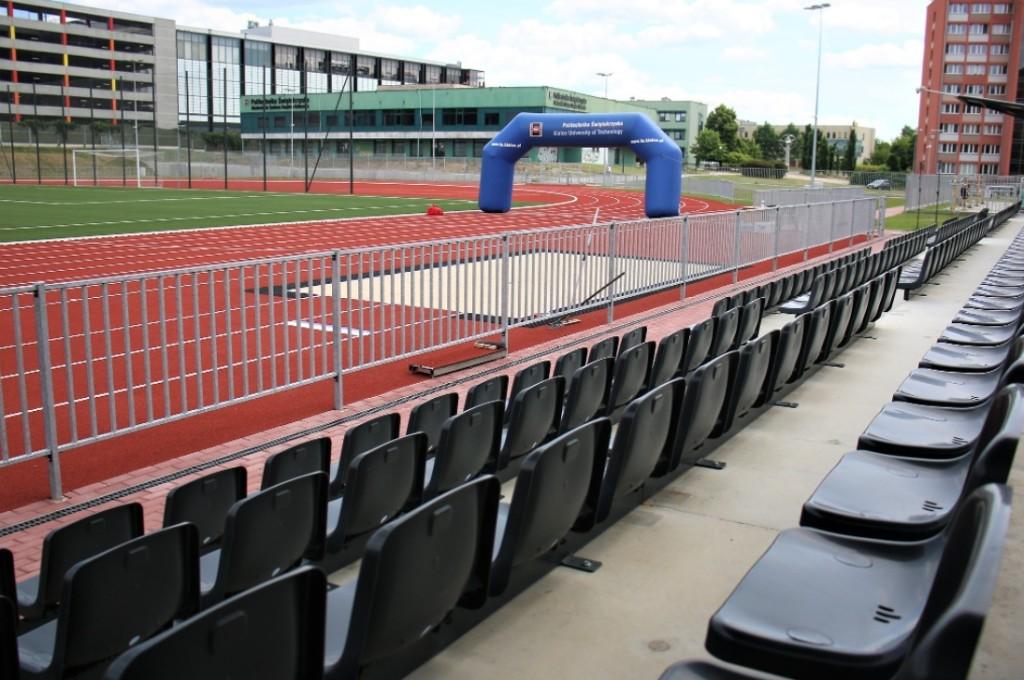 Otwarto Stadion Politechniki Świętokrzyskiej. Pomieści 500 osób