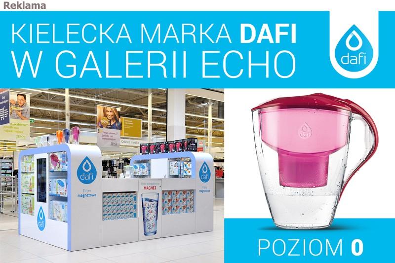 Kielecka marka Dafi w Galerii Echo!