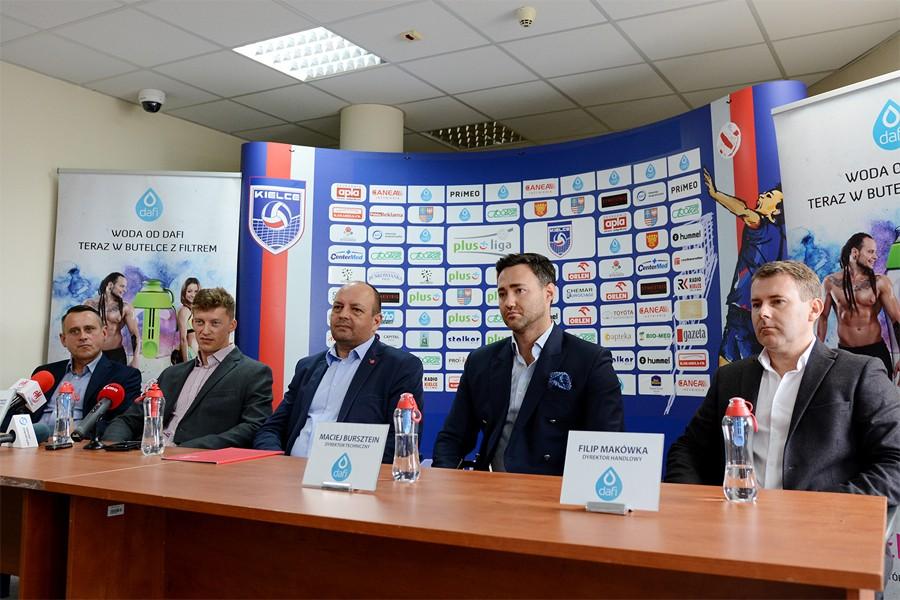 Od nowego sezonu w PlusLidze zagra Dafi Społem Kielce. Zobacz herb nowego klubu