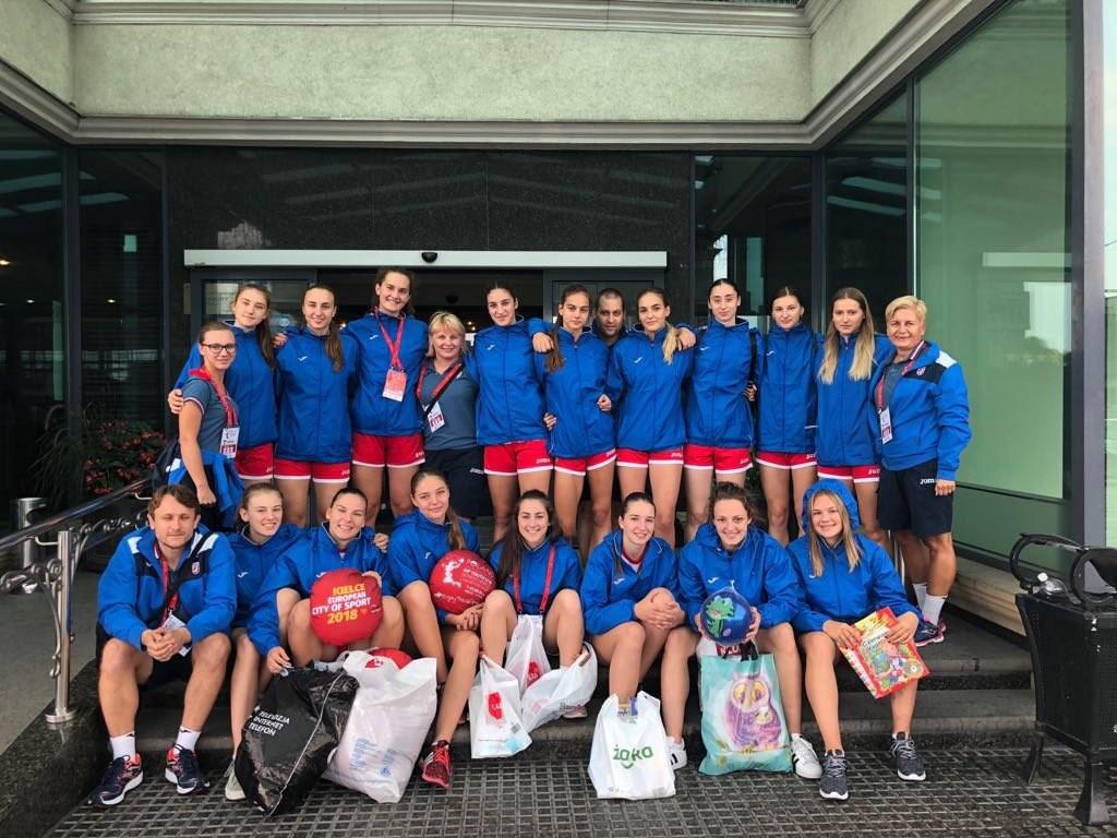 MŚ U-18: Wielkie serce Chorwatek. Złożyły wizytę w szpitalu dziecięcym