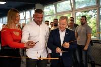 Znane osobistości na otwarciu nowej sali treningowej w Kielcach
