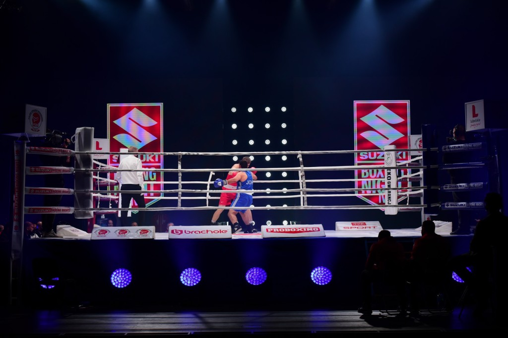 FOTO: Wielkie emocje na Suzuki Boxing Night IV. Triumf kielczanina