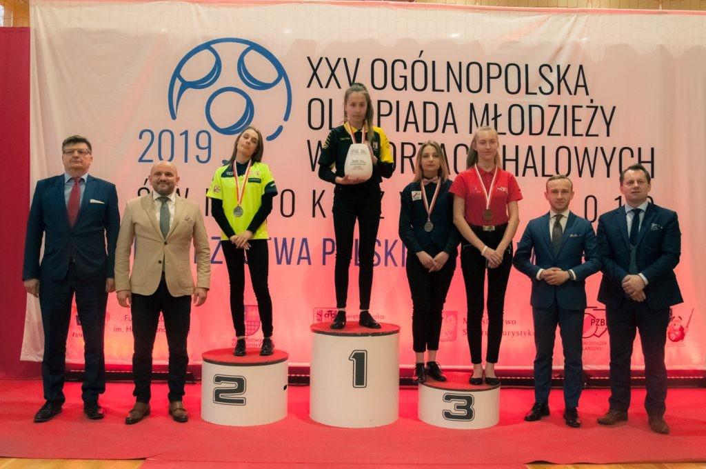 Znakomity występ UKS MIŁEK Wiślica na XXV Ogólnopolskiej Olimpiadzie Młodzieży w sportach halowych - Świętokrzyskie 2019!