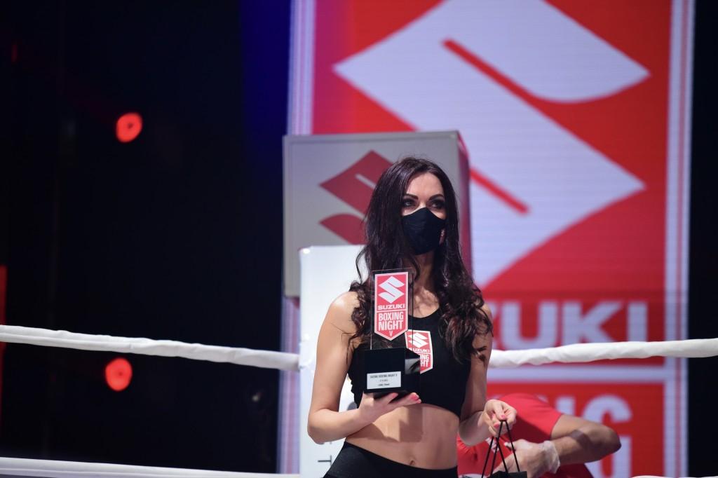 Dwóch kieleckich bokserów walczyło podczas Suzuki Boxing Night (ZDJĘCIA)