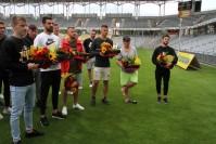 Siedmiu zawodników odchodzi z Korony. Klub uroczyście pożegnał ich na Suzuki Arenie