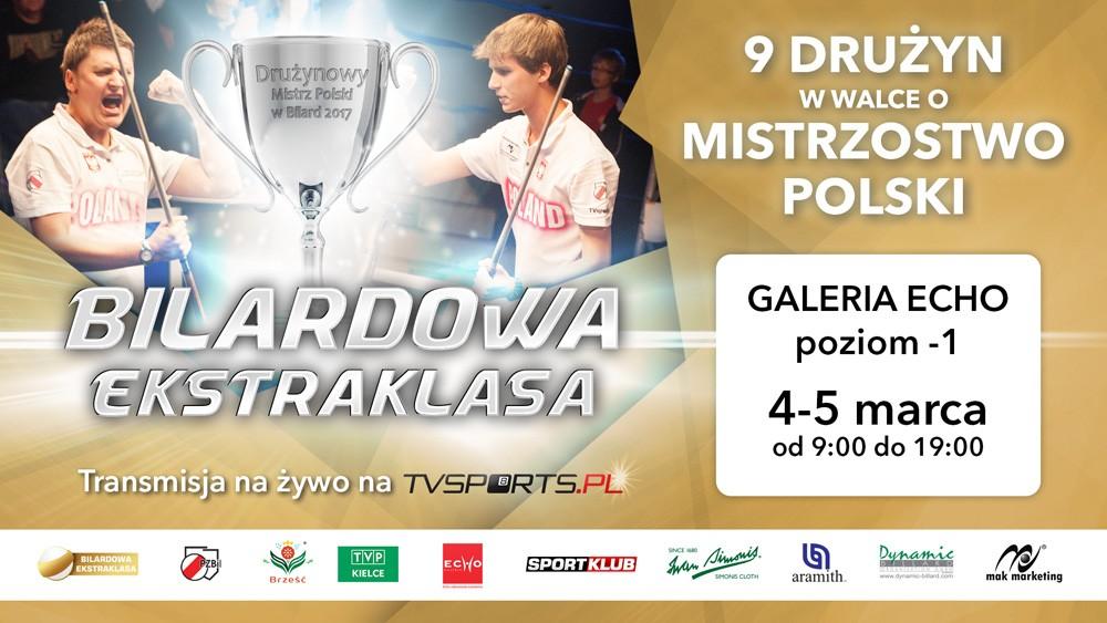 Rozpoczyna się Bilardowa Ekstraklasa! Początek w Kielcach!