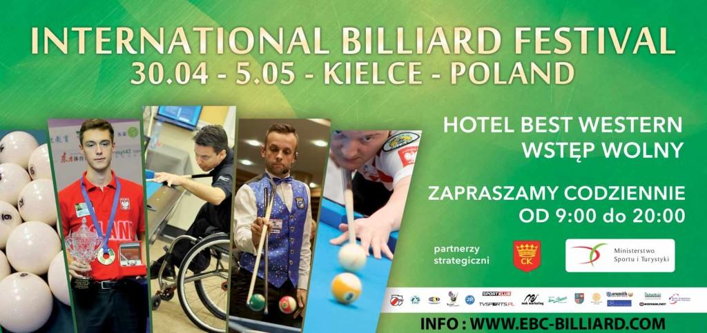 Już od jutra w Kielcach wielki bilardowy festiwal!