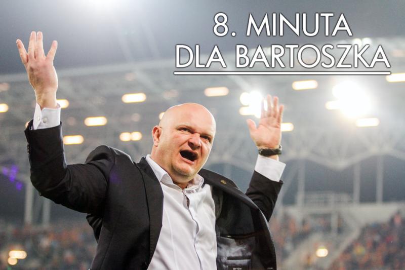 8. minuta dla Bartoszka. Podziękujmy trenerowi na stadionie!