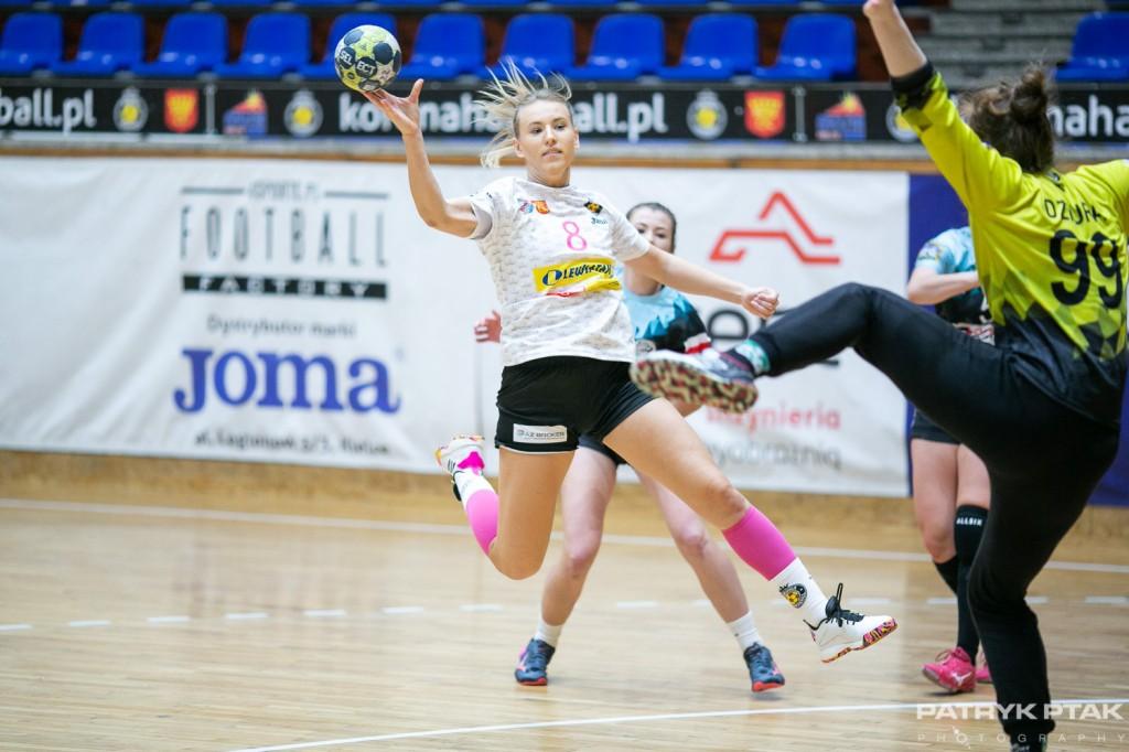 Więckowska zadebiutowała w mistrzu Polski. Przywitała się z Superligą jednym golem