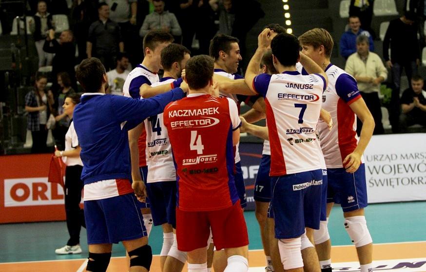 Znakomity mecz w Chęcinach! Effector z pierwszym zwycięstwem w tym sezonie!